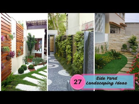 27 Stunning Side Yard Landscaping Ideas