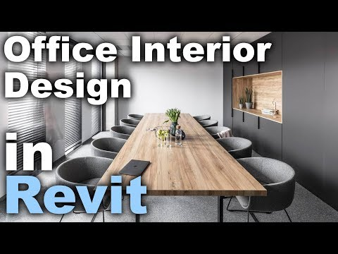 Office Interior Design in Revit tutorial