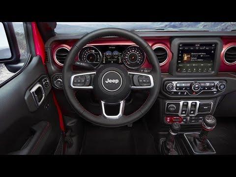 2018 Jeep® Wrangler | Interior Design