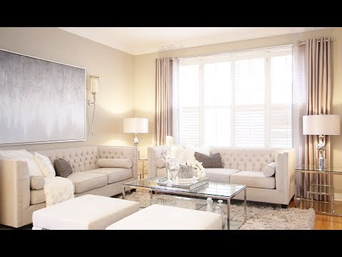 Living and Dining Room Makeover – Kimmberly Capone Interior Design