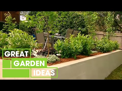 Build Your Own Retaining Garden Wall For Kids | Gardening | Great Home Ideas