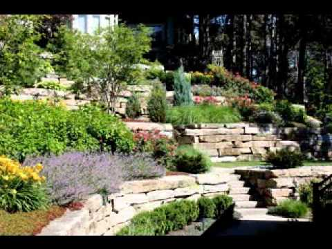 Hillside landscaping design ideas