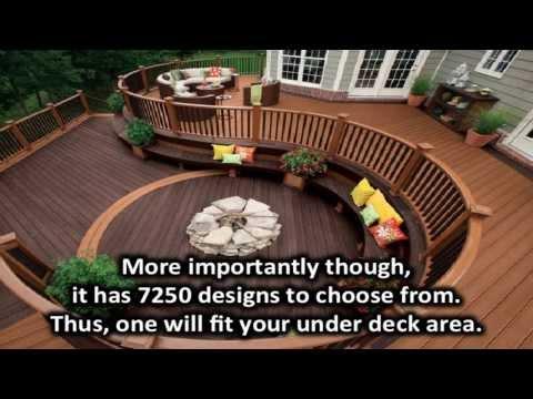 Under deck landscaping ideas