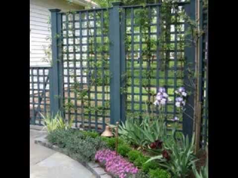 Garden privacy screen ideas