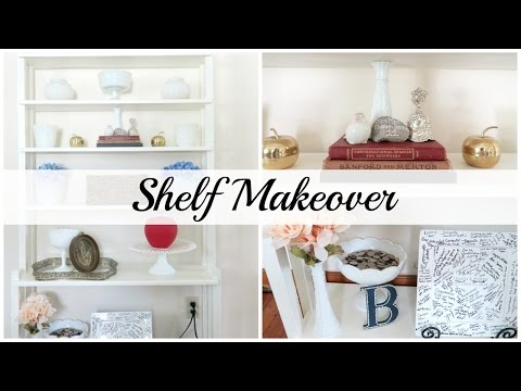 Furniture Makeover | DIY Shelf Refinish