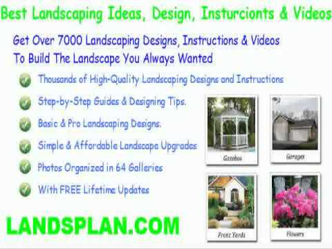 landscaping ideas front yard country home