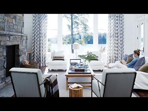 Interior Design – Tour A Luxurious Cottage On Lake Muskoka