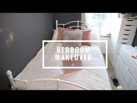 BEDROOM MAKEOVER   Putting furniture together + Decorating   BOLA MARTINS