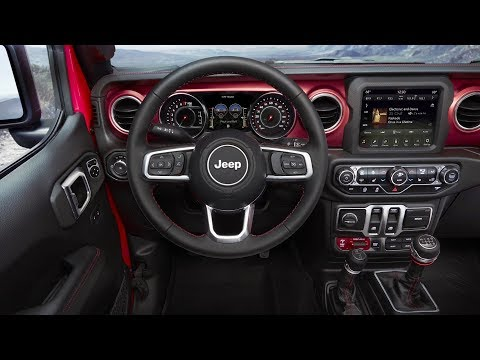 2018 Jeep® Wrangler | Interior Design
