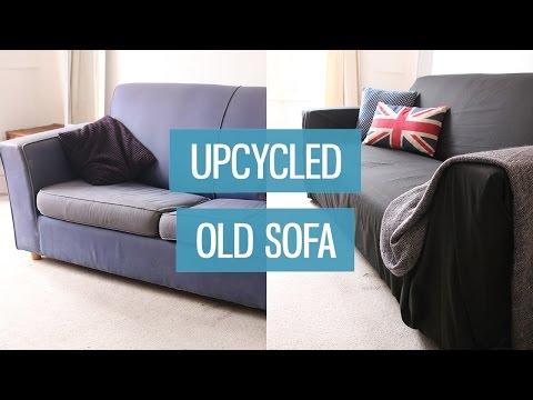 Old sofa makeover – upcycling DIY   CharliMarieTV