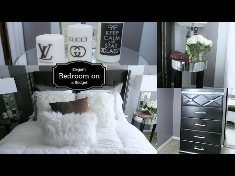 Watch How I Transform My Bedroom- DIY Budget Bedroom Makeover-Start to Finish