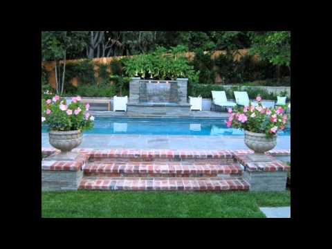 swimming pool landscaping ideas pictures