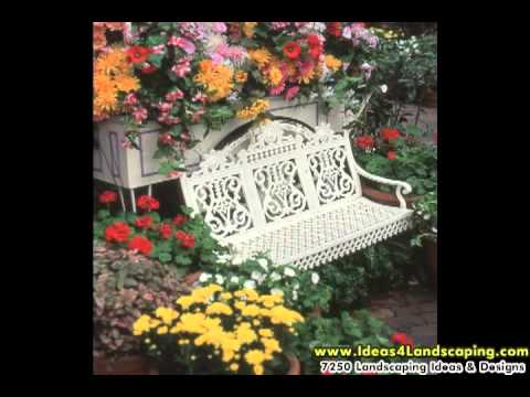 Smart Landscaping Ideas – Using a Garden Bench