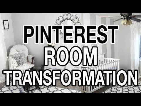 PINTEREST ROOM TRANSFORMATION ON A BUDGET: Nursery Makeover