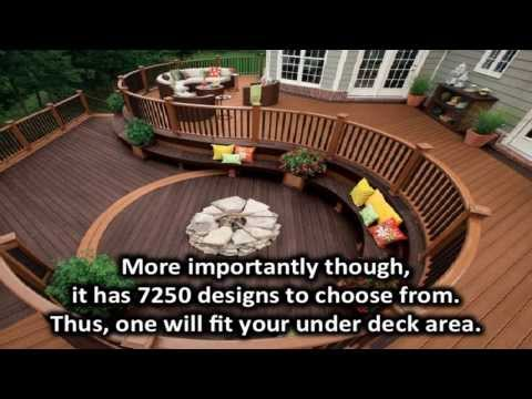 Under deck landscaping ideas