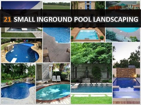 21 Magnificent Small Inground Pool Landscaping Ideas – DecoNatic