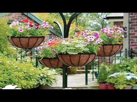 Lovely Hanging Flower and Vegetable Garden Design Ideas