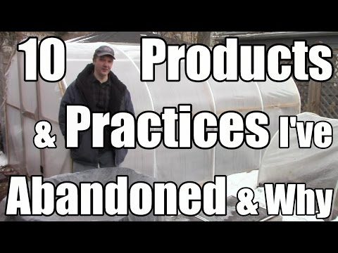 10 Gardening Products & Practices I've Abandoned & Why