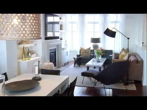 Interior Design — Bright & Warm Lakeside Townhouse