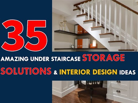 35 Amazing under-staircase Storage Solutions and Interior Design Ideas 2017