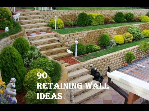 90 Retaining Wall  Ideas 2019 | Garden and Landscaping Retaining Wall Design Ideas #1