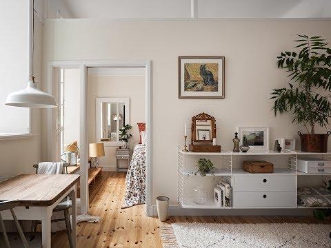Romantic Scandi Apartment With Beautiful Terrace | 🍍 Interior Design