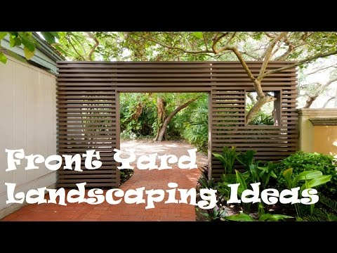 30 Front Yard Landscaping Ideas for 2017