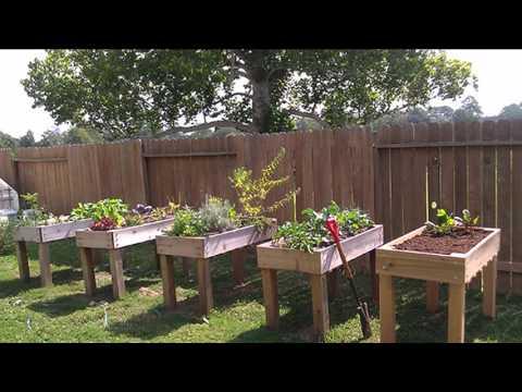 [Garden Ideas] raised vegetable planters