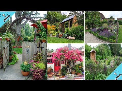 100 Cozy and Relaxing Country Garden Decoration Ideas You Will Totally Love