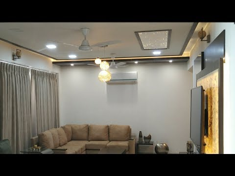 Modern small living room interior design idea ! Living room decorating design india