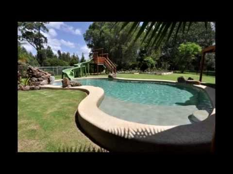 Backyard With Pool Landscaping Ideas