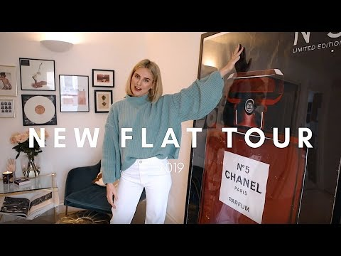 NEW FLAT TOUR & INTERIOR DESIGN 2019 || STYLE LOBSTER