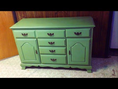 DIY| Dresser Makeover | Flea Market Find | Furniture Makeover