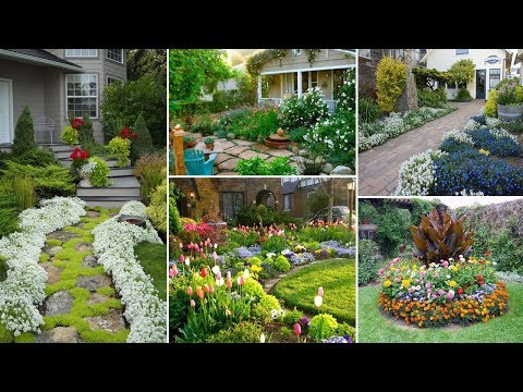 80+ Fresh and Beautiful Front Yard Flowers Garden Landscaping Ideas | John Ideas
