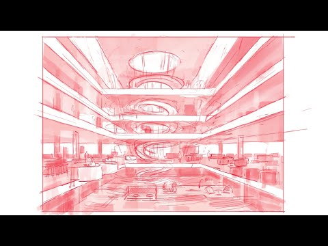 Procreate Techniques for Architectural & Interior Design Concept Sketches (Real World Examples)