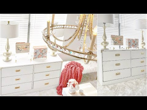 NEW! $12.99 Goodwill Vintage Glam Dresser Makeover