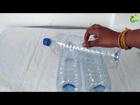 Plastic Bottle Garden Ideas/Plastic Bottle Hanging Garden/ORGANIC GARDEN