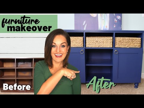 ⭐️Extreme DIY Thrift Store Furniture Makeover! (Upcycle)