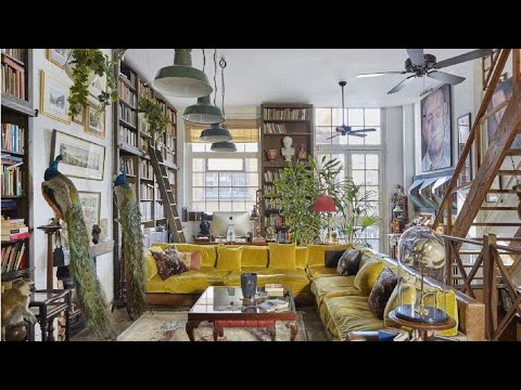 unique vintage/industrial home in London ▸ interior design