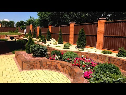 71 Оригинальная идея для украшения садового участка / Landscaping Ideas for the Garden / A – Video