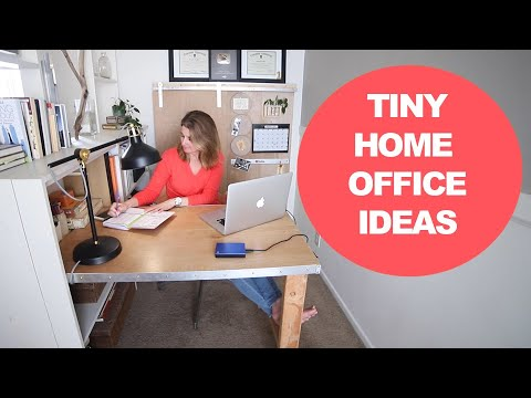 Budget Small Office Makeover – Home Office Inspiration