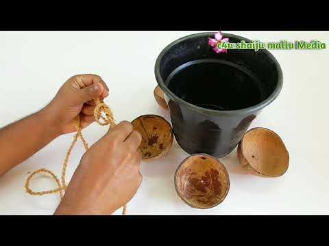 diy planter ideas , gardening , hanging plant pots