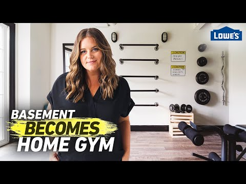 Transform Your Basement Into a Home Gym | Home Becomes (Ep 2)