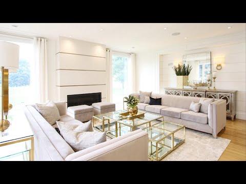 Stylish, Modern Living Room Makeover Transformation + Design Tips   Kimmberly Capone Interior Design