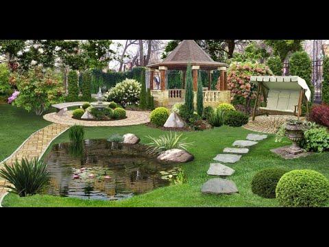 Landscaping design and backyard garden decor ideas!