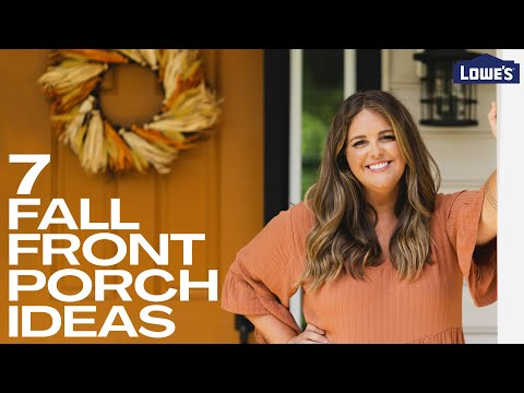 7 Fall Front Porch Ideas