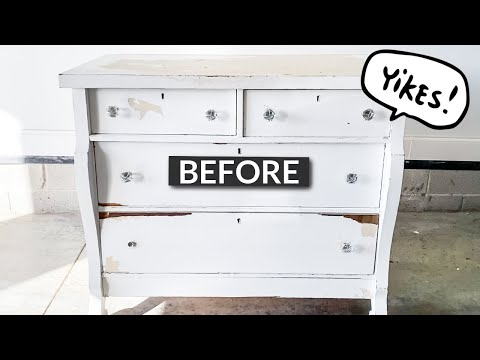 Trash To Treasure | Furniture Makeover | I Can't Believe I Paid For This!