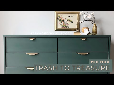 Trash to Treasure | MID-MOD MAKEOVER
