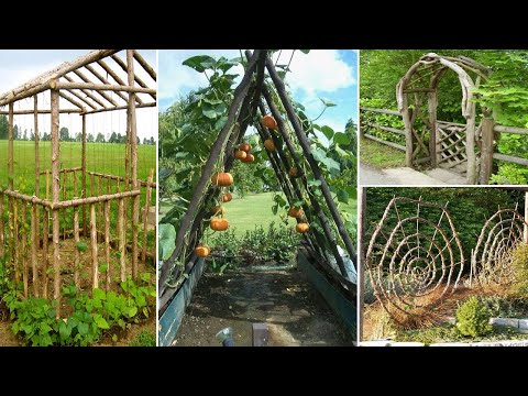 30+ Garden Projects using Sticks and Twigs | garden ideas