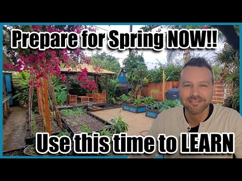 Organic Gardening for Beginners.  Get Ready for Spring NOW by Learning All You Can!
